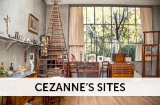 cezanne's sites