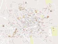 Plan du centre ville d'Aix-en-Provence