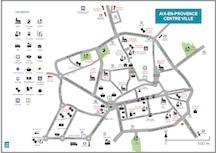 Plan simplifié d'Aix-en-Provence