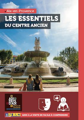Aix en Provence aide à la visite en facile à comprendre