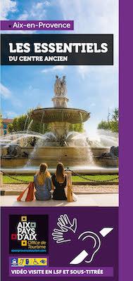 Aix en Provence video visite en LSF et sous-titré