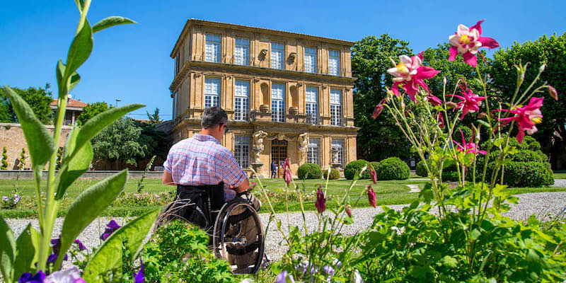 Tourism for the disabled aix en provence office de tourisme - Aix en provence tourist office ...