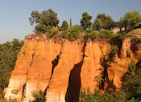 roussillon ocres