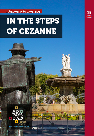 In the step of Cezanne Aix en Provence